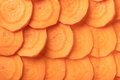 Texture of raw carrots closeup Royalty Free Stock Photo