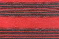 Texture of red and black colored carpet Royalty Free Stock Photo