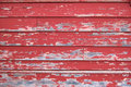 Texture red peeling paint wall Royalty Free Stock Photography