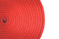 Texture of red rope Royalty Free Stock Photo