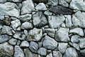 Texture of rock wall Royalty Free Stock Photo