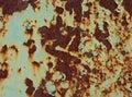 Texture of rusty iron Royalty Free Stock Photo