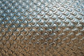Texture of Silver Dragon Scales Stock Photography