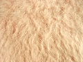 Texture of soft beige fleecy fabric Royalty Free Stock Images