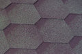 Texture soft tile. background pink flexible tile roof. Royalty Free Stock Photo