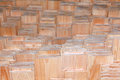 Texture stack of boards Royalty Free Stock Photo