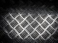 Texture of stainless steel floor plate Royalty Free Stock Photo