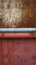 Texture of Steel surface rust and red steel below Royalty Free Stock Photo