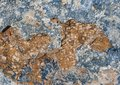 Texture of stone blue an brown orange Royalty Free Stock Photos