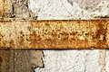 Texture of a stone wall with rust stains Royalty Free Stock Photo