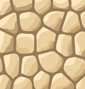 Texture of stones stone wall background illustration Royalty Free Stock Images