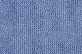 Texture of terry towel blue Royalty Free Stock Image