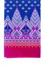 Texture of Thai silk pattern, Thailand textile Royalty Free Stock Photo