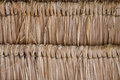 Texture of thatch roof close up straw background Royalty Free Stock Photography