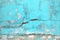 Texture urban wall turquoise color, concrete structure closeup a