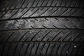Texture of used car tire textured pattern Royalty Free Stock Photo