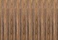 Texture of veneer brown wood vertical stripes Royalty Free Stock Photo