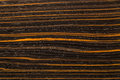 Texture veneer dark wood stripes for interior Royalty Free Stock Photo