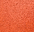 The texture of wall from orange color by painted for background Royalty Free Stock Photo