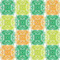 Texture for Wallpaper. Orange, green, yellow ornaments Royalty Free Stock Photo