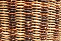 Texture of wicker basket Stock Photo
