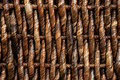 Texture of wicker basket Stock Photos