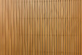 Texture of wood lath wall background Royalty Free Stock Photography