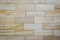 Texture of wooden bar, same as brick wall Royalty Free Stock Photo