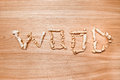 Texture of wooden planks closeup with the shavings inscription photo wood Stock Photos