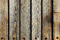 Texture of wooden planks old close up Royalty Free Stock Image