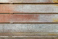 Texture of wooden rail fence. Old wood panels Royalty Free Stock Photo