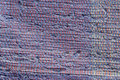 Texture of woven cotton dark blue, purple threads Royalty Free Stock Photo