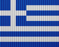 Textured flag of Greece in nice colors