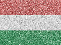 Textured flag of Hungary in nice colors