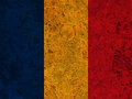 Textured flag of Romania in nice colors