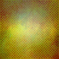 Textured green yellow and gold background with faint detailed blocks of red stripes or lines texture