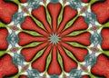 Textured Kaleidoscope