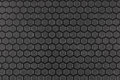 Textured metallic surface hexagonal pattern Stock Image