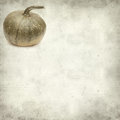 Textured old paper background with pumpkin Royalty Free Stock Photo