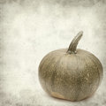 Textured old paper background with pumpkin Royalty Free Stock Photography