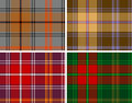 Textured seamles tartan plaid Royalty Free Stock Images
