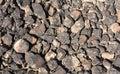 Textured surface of desert rocks Royalty Free Stock Photo