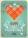 Textured valentines day background illustration Stock Photography