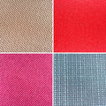 Textures of different colors fabric Stock Image