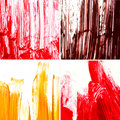 Textures of different paint Royalty Free Stock Images