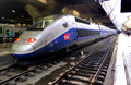 TGV high speed train Royalty Free Stock Photo