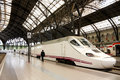 TGV. high speed train, Spain Royalty Free Stock Photo