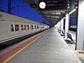 TGV Train Passing Through A St...