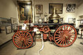 Th century fire trucks new york city fire museum houses one nation s most important collections fire related art artifacts late th Royalty Free Stock Image