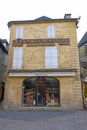 Th century house at the place du peyrou in sarlat france october on october la caneda is a medieval town Royalty Free Stock Photo